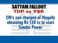 TDP alleges Andhra CM's son got money from Satyam