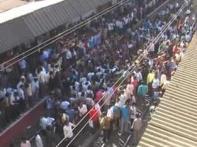 Cancelled local train creates chaos in western Mumbai