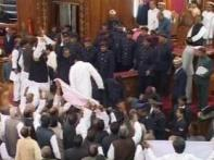 Rampaging MLAs bring Uttar Pradesh Assembly down