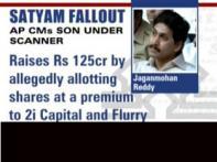 Opposition flays Satyam link of YSR Reddy's sons
