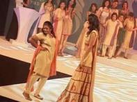 Recession the fashion at India Fashion Week