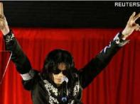 Michael Jackson re-learning his signature Moonwalk