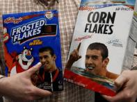 <a href='http://ibnlive.in.com/news/us-food-bank-gets-an-olympicsized-cereal-donation/87542-5-23.html'>Kelloggs donates packs endorsed</a> | <a href='http://ibnlive.in.com/news/phelps-sad-over-family-hurt-after-marijuana-pipe-photo/87543-5-23.html'>Phelps feels for family</a>