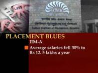 IIM Placements: Many recruiters give campus a miss