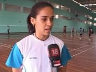 Shuttler Saina faces Hongyan at All England Open