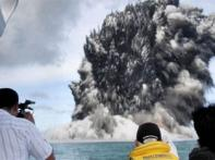 Tongan inspection team heads to undersea volcano