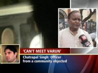 Chatrapal Singh denied entry into jail to meet Varun