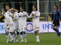 Sampdoria make Coppa Italia final despite Inter win