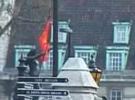 Nehru statue in London disfigured by vandals