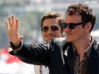 Tarantino, Pitt in Cannes for <i>The Inglourious Basterds</i>' premiere