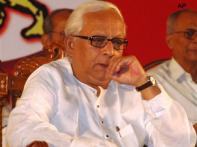 Buddhadeb visits cyclone-hit areas, faces protests