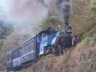 Hit by cyclone Aila, Darjeeling Toy Train on halt