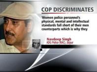 Rajasthan top cop exhibits gender bias, faces flak