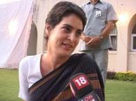 Priyanka Gandhi casts vote, exudes hope