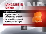 350 tourists evacuated in north Sikkim after landslide