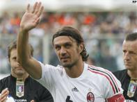 Maldini bids adieu as Milan beat Fiorentina