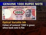 Watch: RBI cautions against fake Rs 1000 note