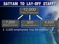 Satyam to cut cost, may lay-off 5,000 employees