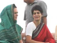 Sonia tours Rae Bareli to thank Cong foot soldiers