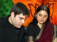 Mother Maneka becomes Varun's voice in BJP