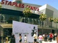 Los Angeles police gearup for Jackson memorial
