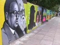 Graffiti gives way to colourful wall art in Chennai