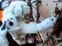 NASA cuts ISS spacewalk due to spacesuit trouble