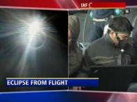Watch: CNN-IBN takes special flight to view eclipse