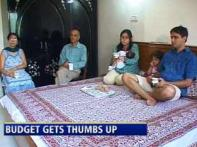 Watch: Indian families welcome Budget '09