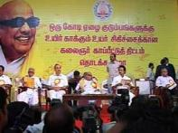 DMK chief announces Rs 517-cr health cover for poor