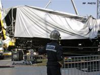 Stage for French Madonna show collapses; 1 dead