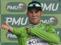 Cavendish wins Tour de France's second stage
