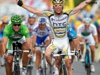 Cavendish celebrates the peak of his career