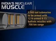 PM launches India's first N-powered submarine
