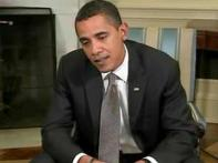 Obama optimistic about ebbing recession in US