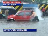 Watch: Rains throw Mumbai out of gear