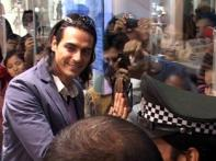 Bollywood in Delhi for Arjun Rampal's restaurant opening