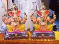 Watch: Lord Ganesha in a new look this Ganeshotsav