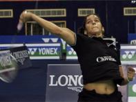 Saina storms into World Badminton quarters