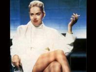 <i>Basic Instinct</i> star Sharon Stone strips again at 51
