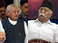 BJP crisis deepens, RSS chief meets Vajpayee