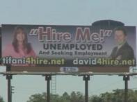 Watch: People use 'Hire Me' billboards to get jobs