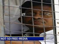 Human rights activists rally for Lankan journo