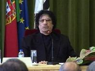 Libyan leader Gaddafi asked to behave during US visit