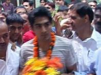 Boxer Vijender back home with bronze, India cheerful