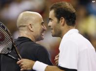 Legends clash, Sampras beats Agassi, tennis rejoices