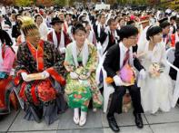 45,000 take part in mass wedding in Korea