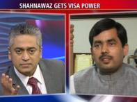 Watch: BJP's lone Muslim MP finally gets US visa