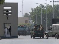 Terrorists still holed up in Pak army HQ, hostages taken