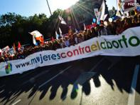 One million protest abortion reforms Bill in Spain